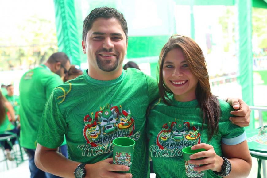 11.-José Isa y Yanelly Sánchez.