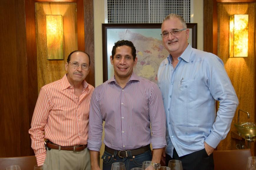 2 Ander Soto, Bolivar López y Kenneth Schimensky