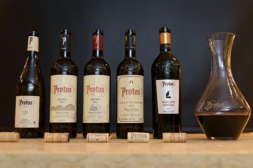 9 Selección Vinos Cata Protos con Daniel De Manuel