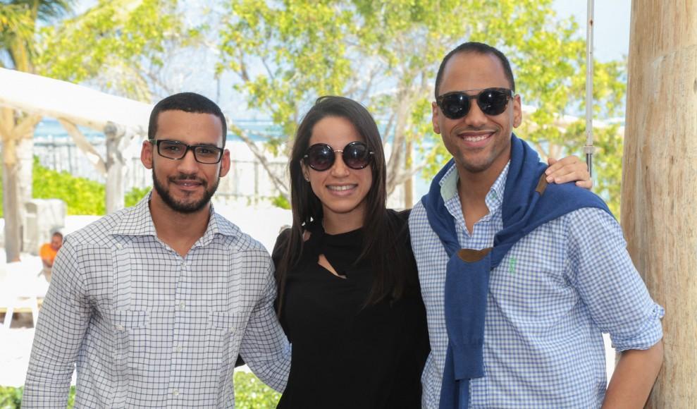 2 Rafael Gross, Stephanie Tavares y Raúl Cohen