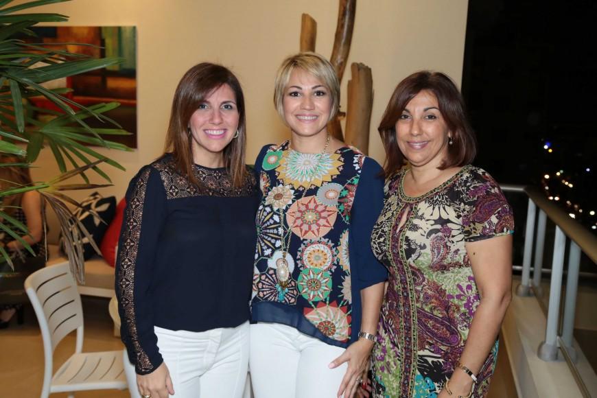 35 Claudia Giraldi, Sonia Blanco De Cabrera y Adilcia Blanco