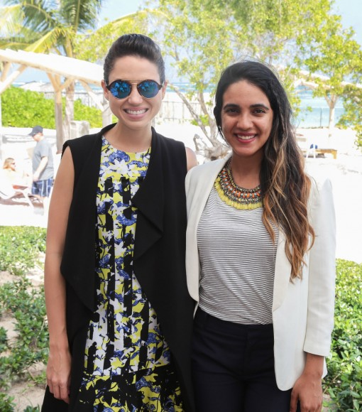 4 Lorenna Pierre y Sarah Carrasco