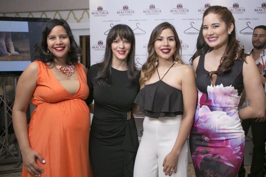 Ana Villamán,Jodie Bisono,Laura Villamán e Iamdra Fermin
