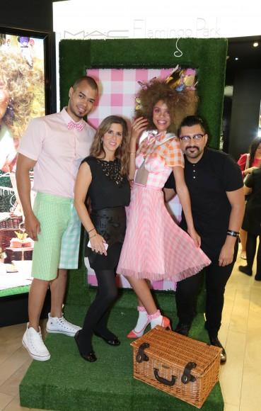 Carlos Mejia, Claudia Handal, Greylin Quelliz y Jorge Ranger