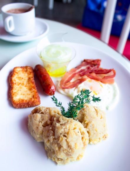 El desayuno dominicano de Minas