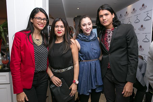 Emilia Alvarez,Larissa Castillo,Larissa Yabra,Moises Alvarez