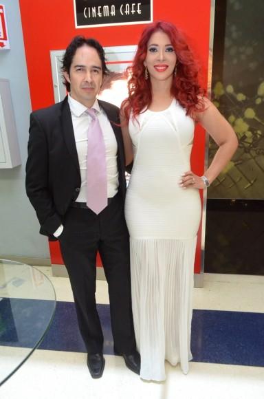 Francisco Javier Carillo y Elizabeth Ruiz