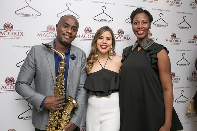 Jean Massena, Laura Villamán y Rhodie Lamour