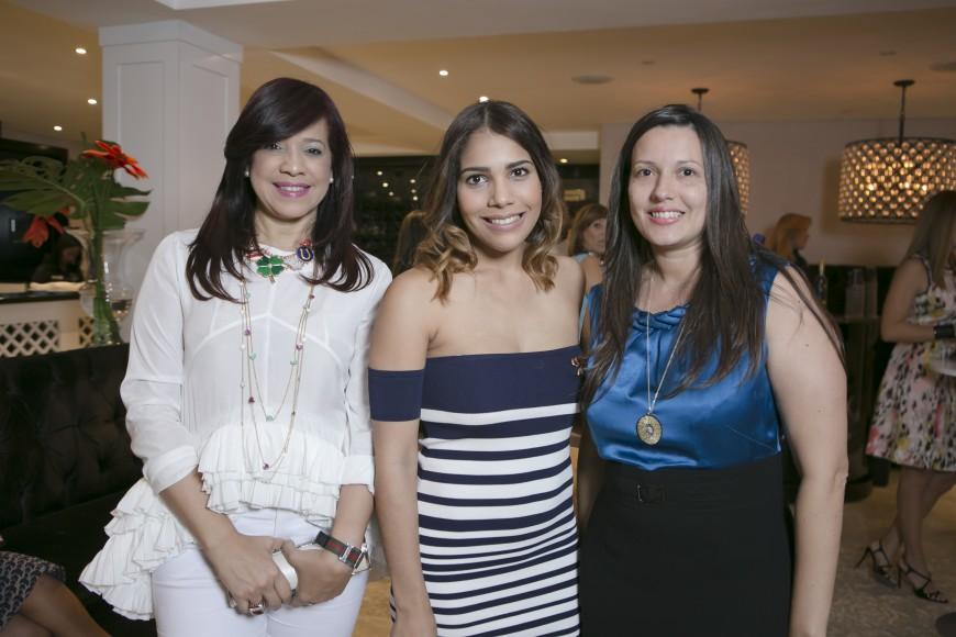 Johansen Jimenez, Penelope Custodio y Yudi Nieves
