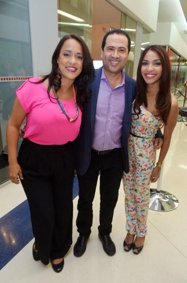 Kenny Valdez, Ramon Almanzar, Wendy  Mora
