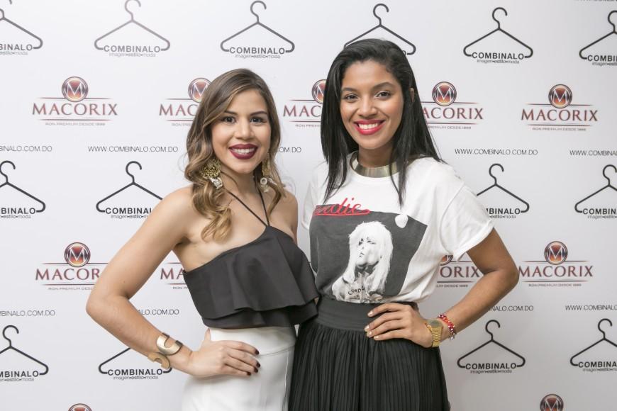 Laura Villamán y Estefanie Campos