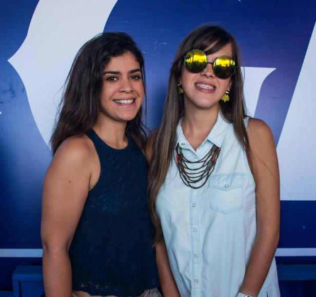 Mary Marte y Nicole Viñas