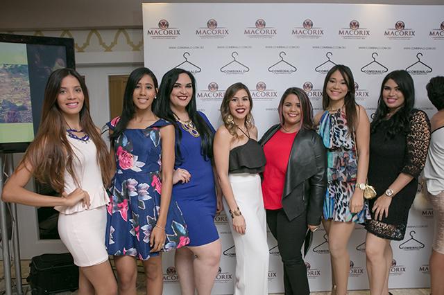 Yirandy Gónzalez,Karoline Ureña, Pamela Gúzman,Laura Villamán,Sarah Mayí,Nicole Gónzalez y Nicole Alcantara