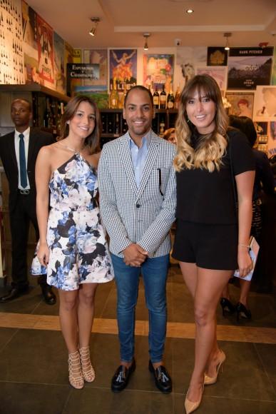 5 Lorena Espaillat, Raúl Cohen y Begoña Goicochea