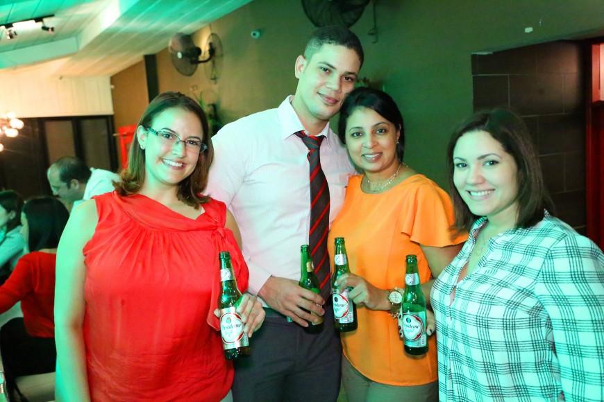 9 Cristina Castillo, Cristian Matos, Iris Castillo y Karla Dominguez.