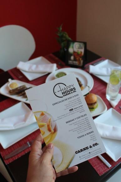Nuevo Happy Hours Carne&Co