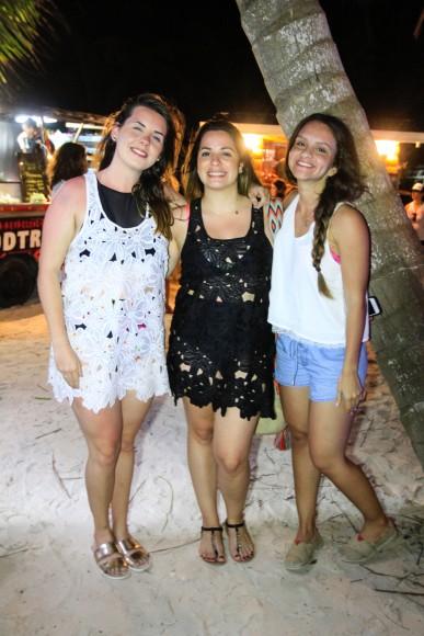 Sandra Ruiz, Francesca Izquierdo y Natalie Morales
