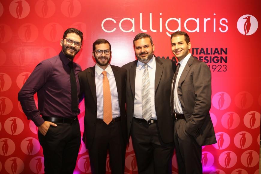 1 - Jonathan Najjar, Michael Najjar, Carlos Nuñez y Andre Najjar