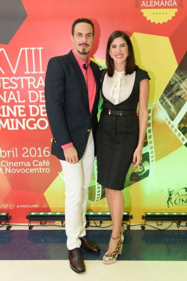 2-Ernesto Báez y Crystal Jiménez Vicens