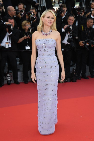 CANNES, FRANCE - MAY 11:  Naomi Watts attends the 'Cafe Society' premiere and the Opening Night Gala during the 69th annual Cannes Film Festival at the Palais des Festivals on May 11, 2016 in Cannes, .  (Photo by Venturelli/WireImage)