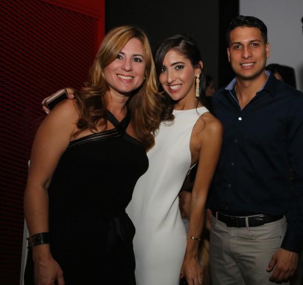 Kathy de Hernández, Stephanie Fabrizio, Luis José Francis