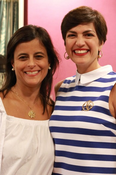 Maria Alexia Troncoso y Cynthia Garate