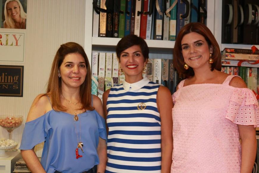 Silvia De Selman, Cynthia Garate y Titi Troncoso.