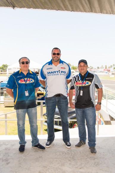 1 (Principal) Josín Busto, Pablo Ortíz y Nelson Villanueva