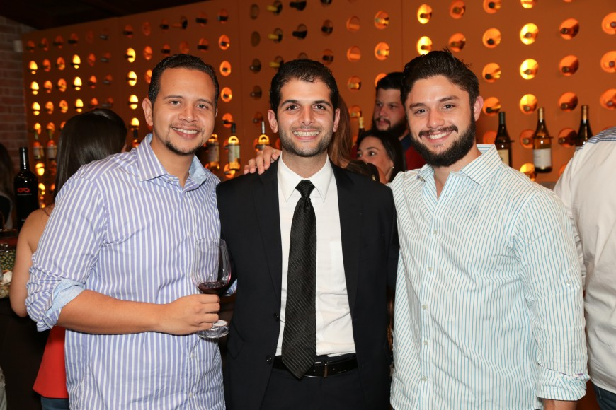 10 Alan Coste, Eduardo Pantaleón y Eduardo Dreyer