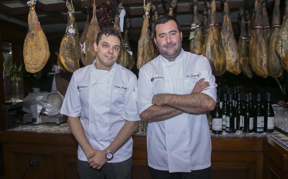 2 PRINCIPAL Los chefs invitados Roberto Terradillos Gil Y José Antonio González