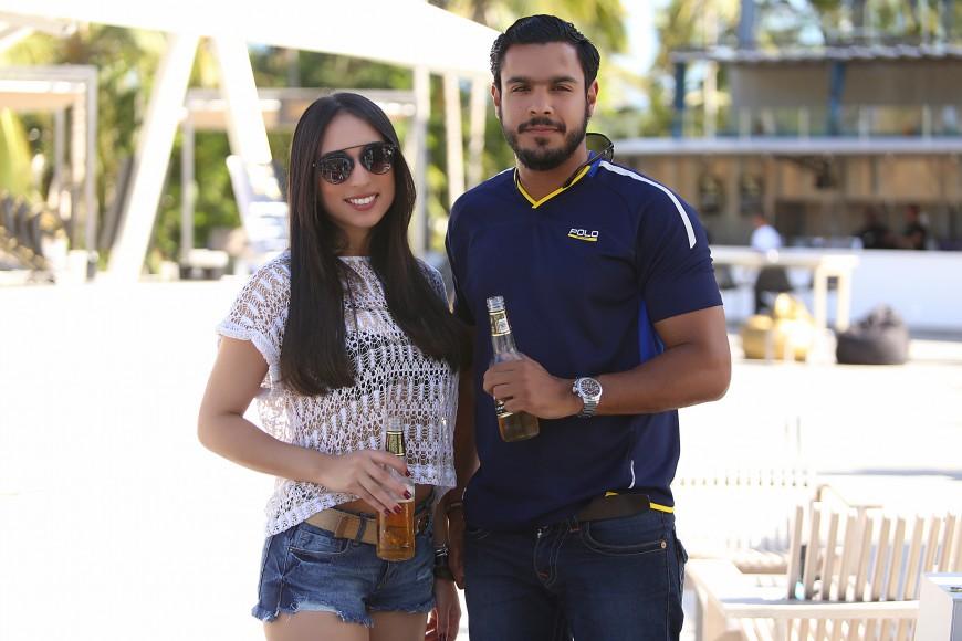 4-Laura Fatule y Cesar Matos