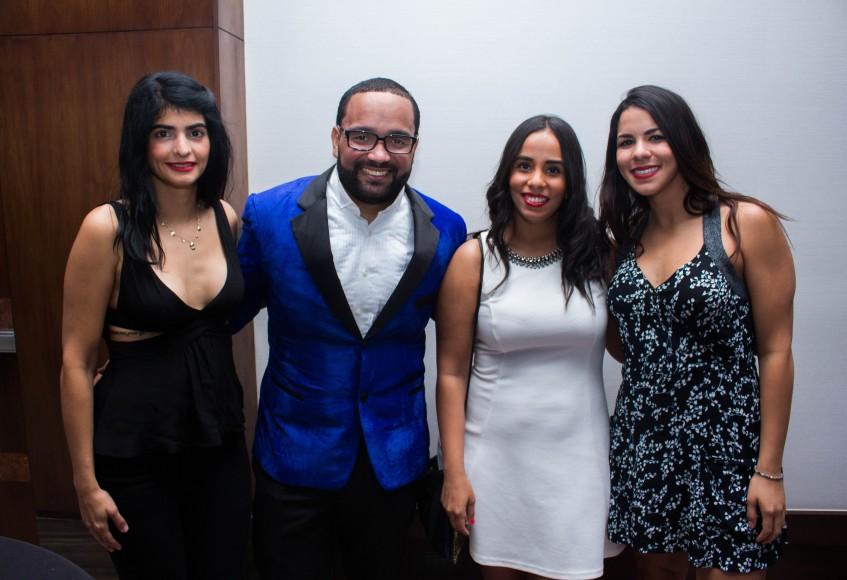 4 Paula Gómez, Jen muoz, Armando Cabreja y Carolina Guisande.