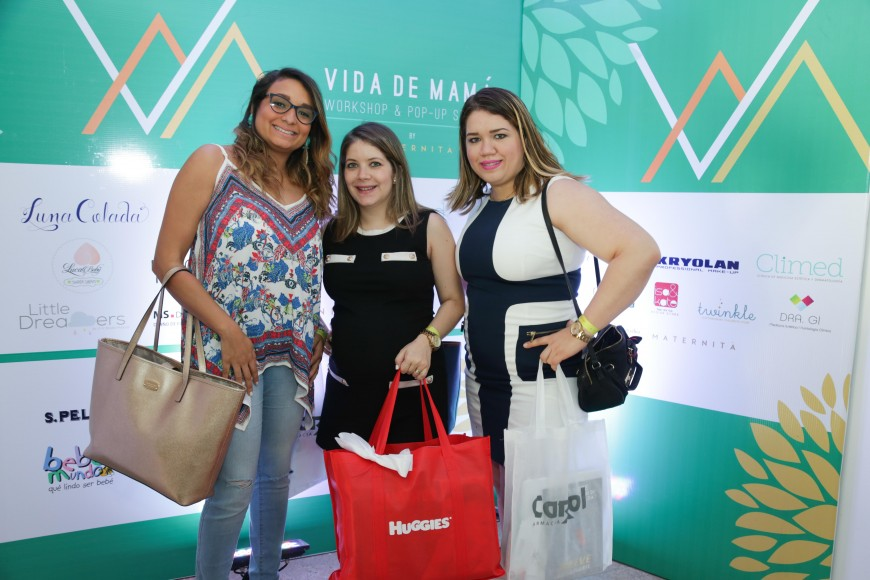 4. Erika Sanción, Massiel Cruz y Ana Catalina Cespedes