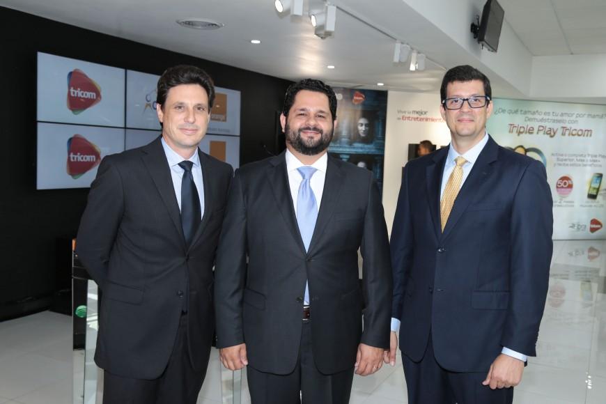 5- Jean Charles Nicholas, Cristhian Fuentes y Guillermo Basilis