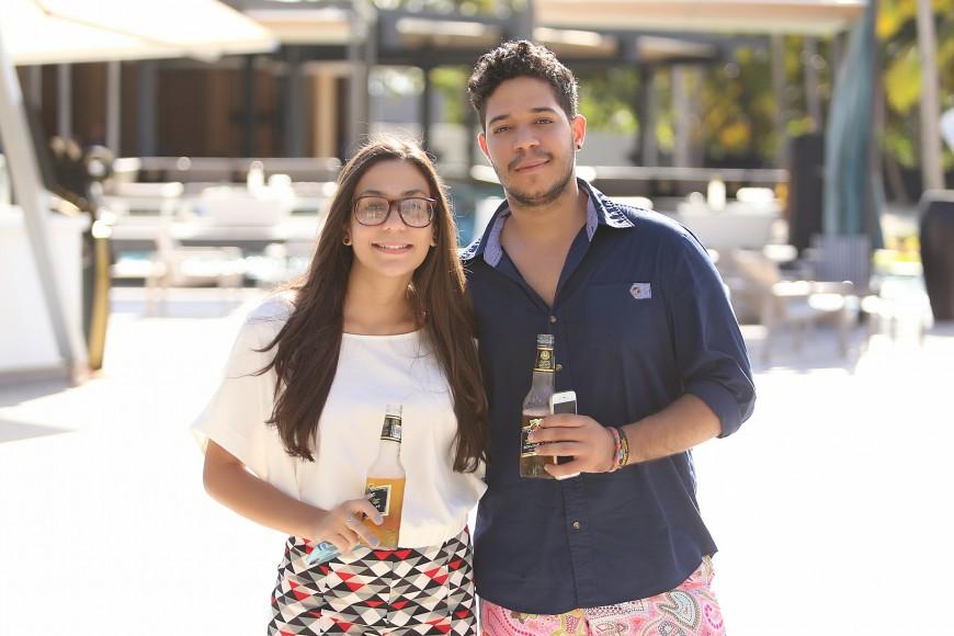 5-Noelia Rivera y George Quiroz.