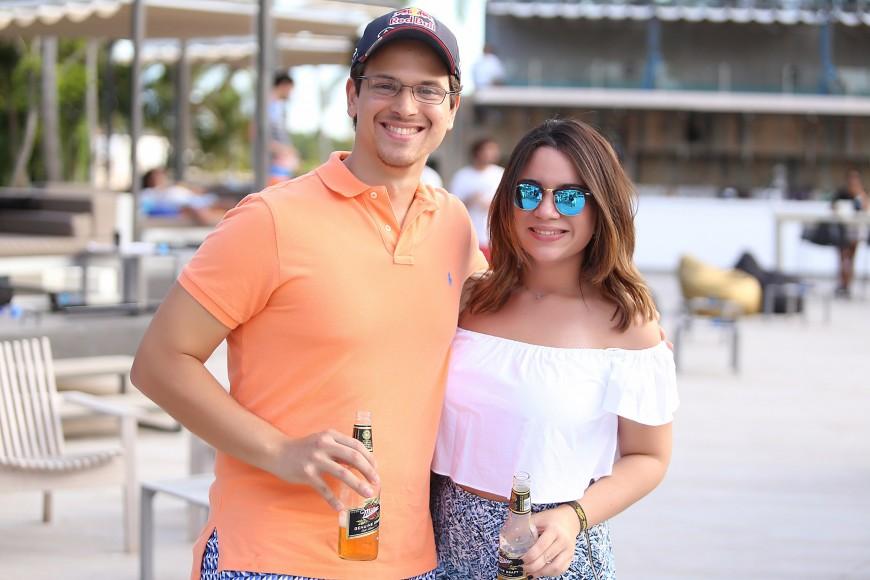 6-Jorge Jaquez y Giselle Santana