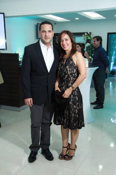 6- Leonte Brea, y Arlina Pichardo