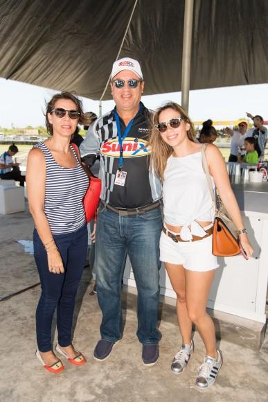 9 María Bonelly De Díaz, Danilo Díaz y Daniela Díaz