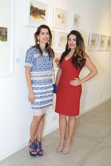 Rita Brugal y Sarah Lopez Jorge
