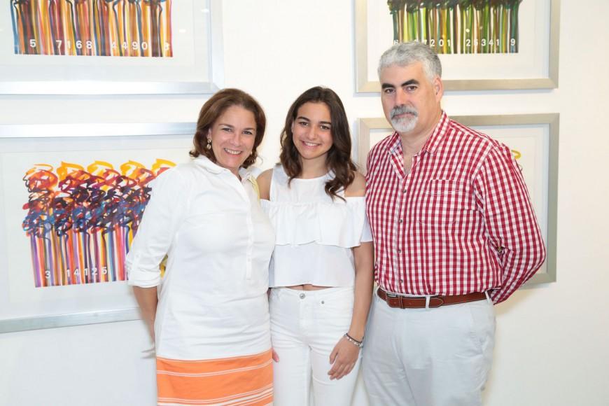 Rosa Varona, Paula Varona y Pablo Varona