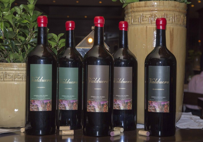 Selección de vinos de Valduero