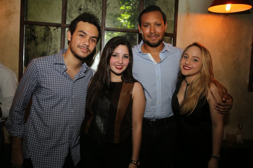 5-Leandro Eusebio, Laura nadal, Elvyn Sosa, Caroline Pelaez