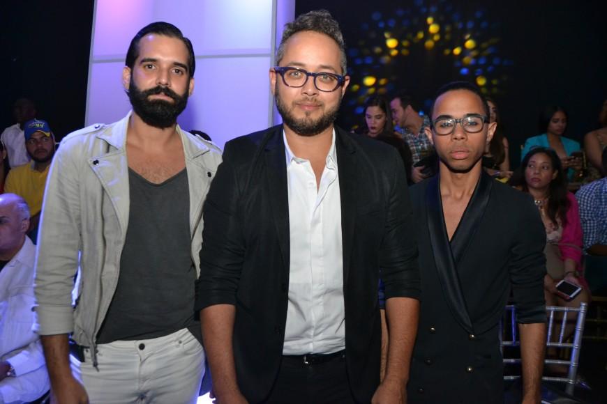Jonathan Santos, Carlos de Moya y Eddy Gomez