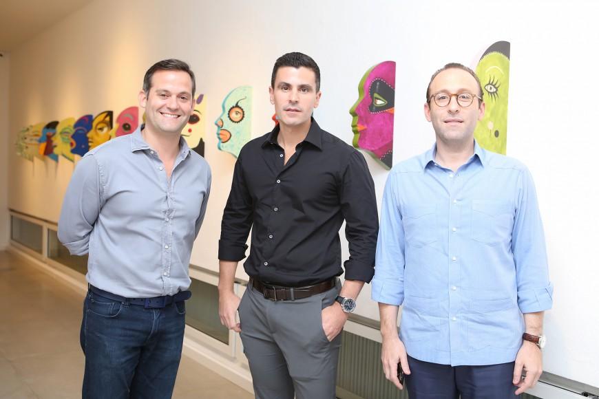 11. Andres Lugo, Carlos Camblor y Giuseppe Bonarelli