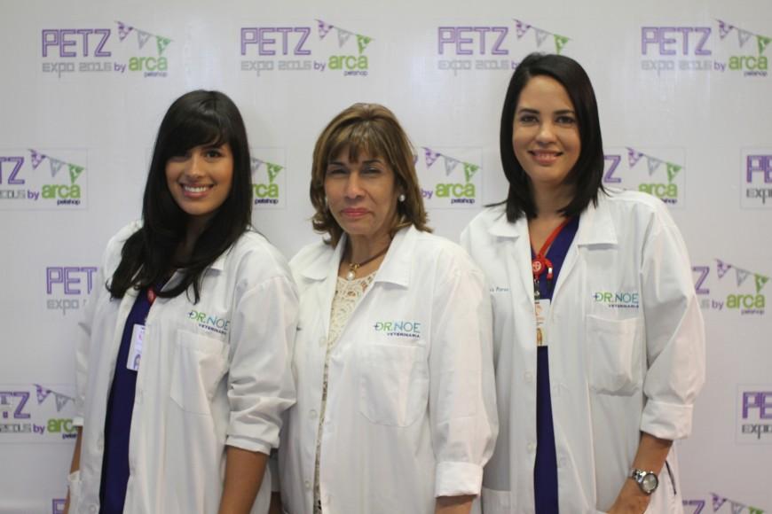 2.- Karla Nouel, Meny Alfonso e Yris Perez.