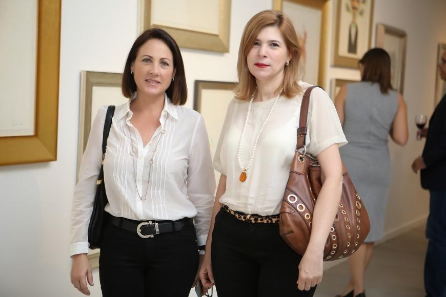 2. Sarah Machado de Cordero y Carmen Freites