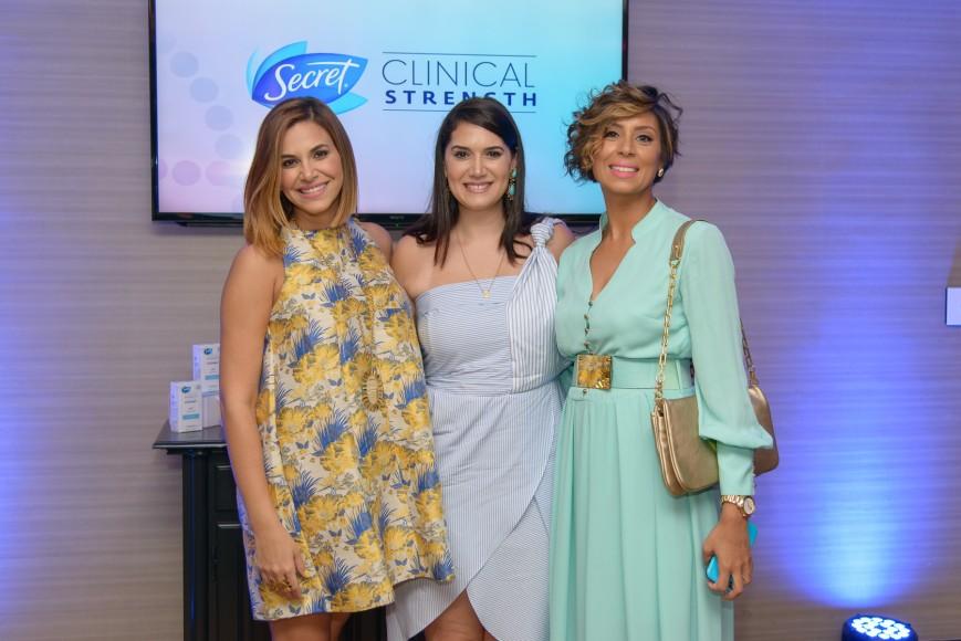 9. Pamela Sued, María Conchia Árcala y Marcelle Namnum