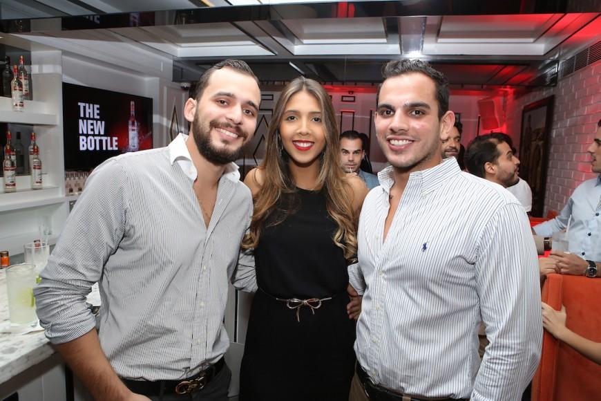 9. Ricardo Natera, Marcel Javier y Francisco Cuenca