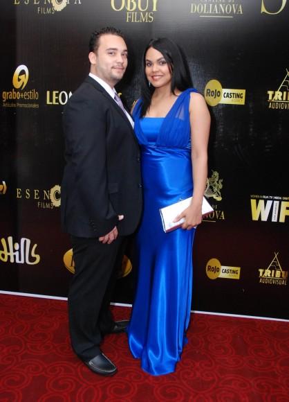 Marcos Garcia y Evelyn Abreu