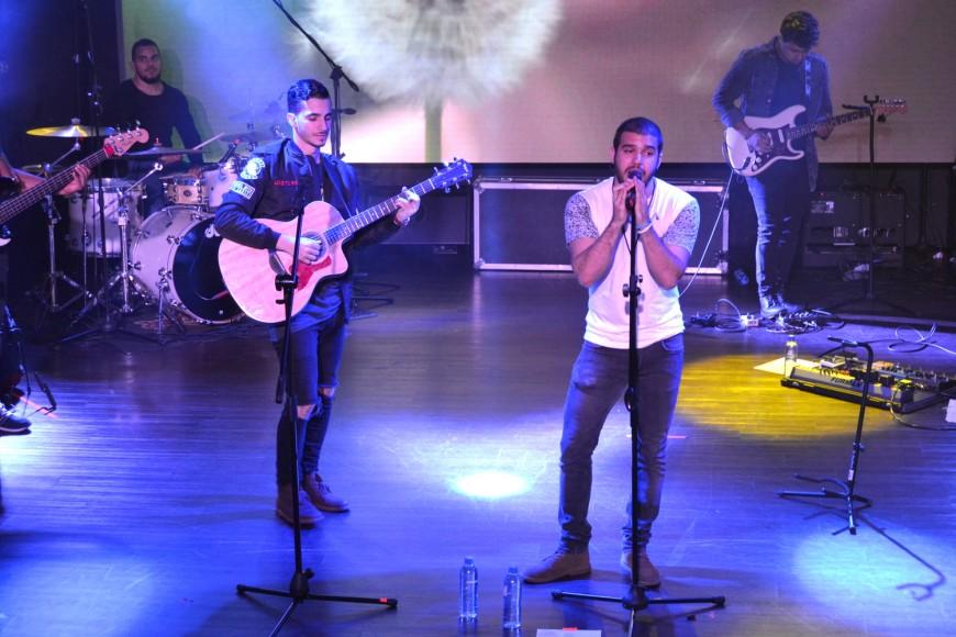 Pamel & Sergio en escenario